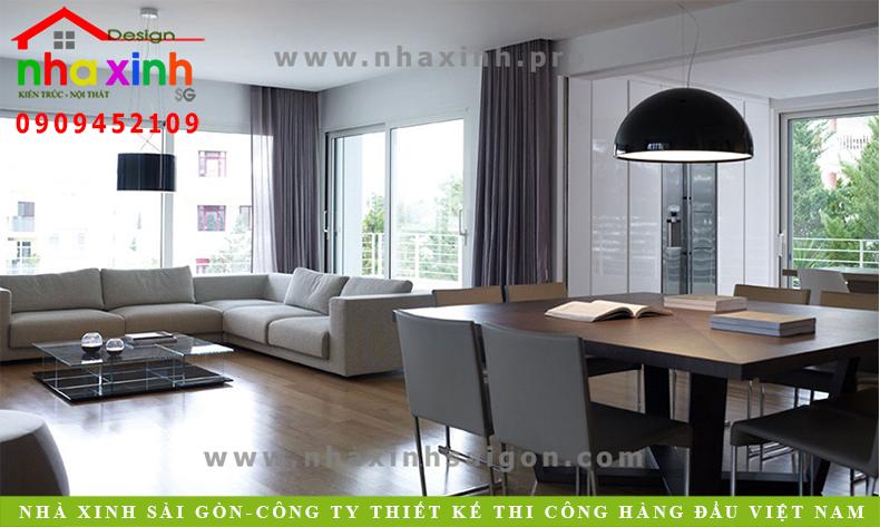 Mẫu Nội Thất Sang Trọng Cho Chung Cư | NT-106