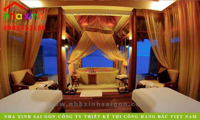 Thiết Kế Nội Thất Phòng Resort 5 Sao   NT-110