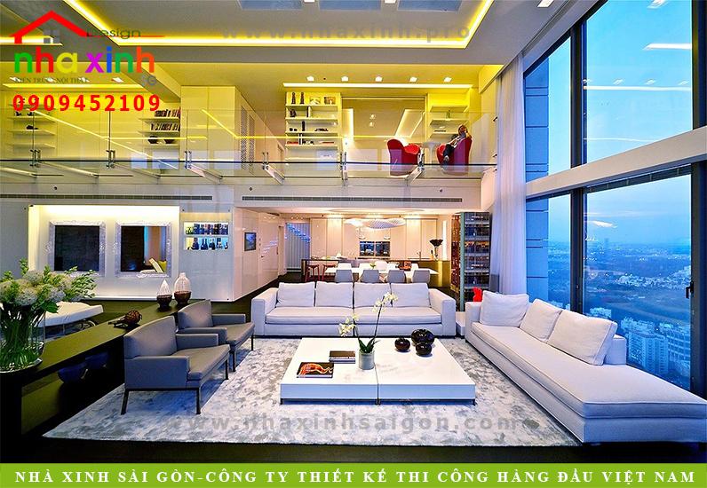 Nội Thất Căn Hộ Penthouse Đẹp | NT-158