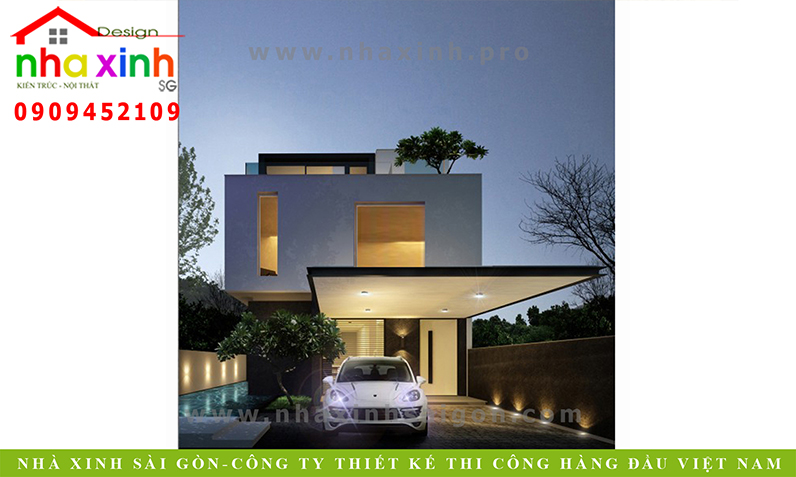 Mẫu Nhà Phố Đẹp Hiện Đại Anh Tân | NP-121