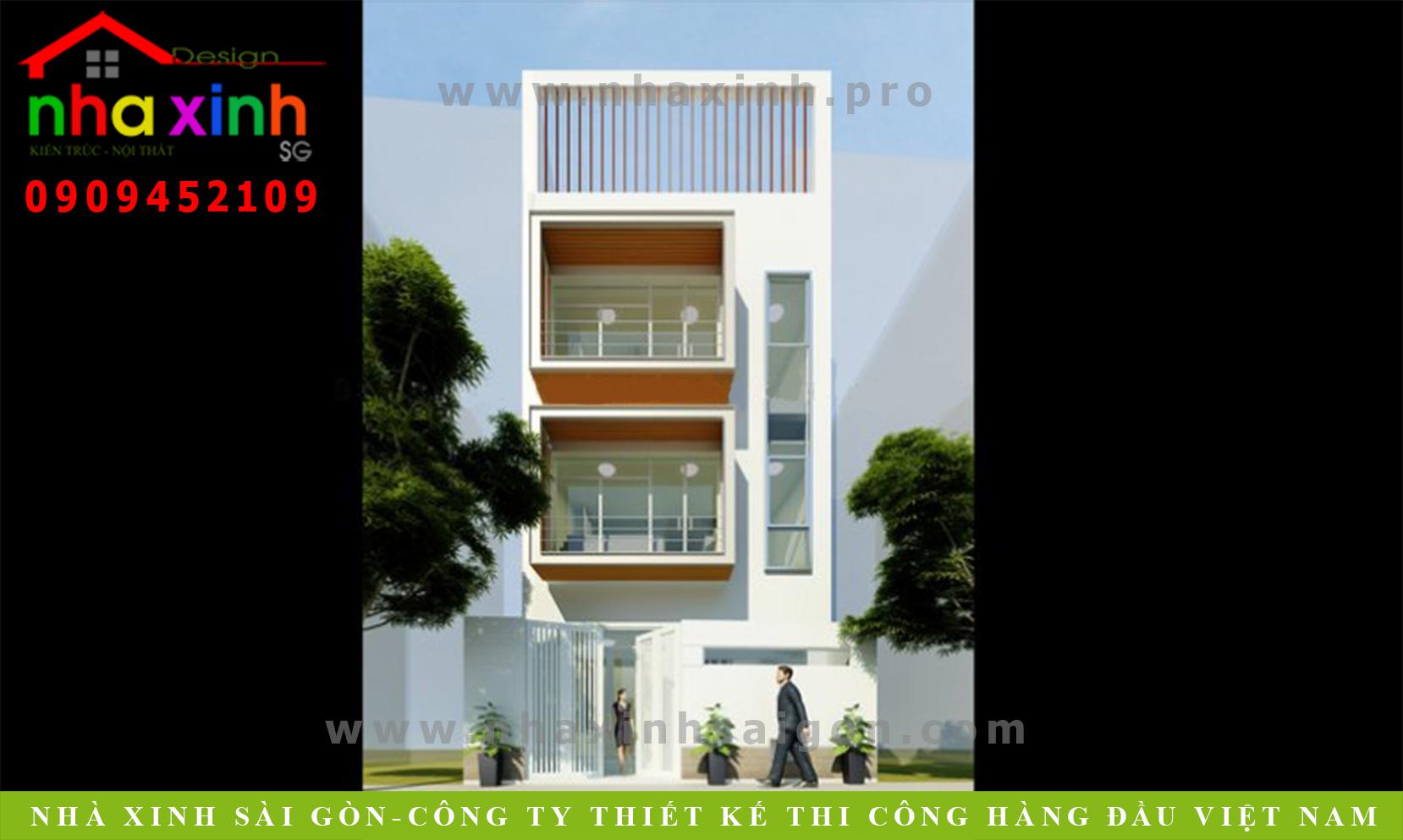 Thiết kế Nhà Phố Đẹp Diễn Viên NMY | NP-157