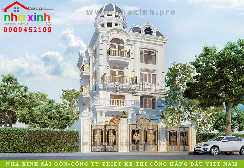 Biệt Thự Tân Cổ Điển Anh Hưng Quận 12 | BT-120
