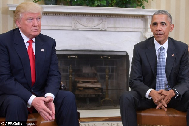 Thái Độ Khi Gặp Mặt Giữa Donald Trump Và Obama Tại Nhà Trắng